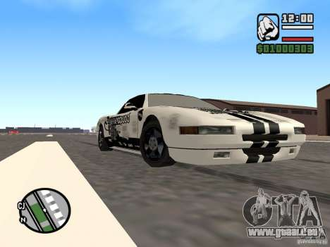 new Infernus Skin für GTA San Andreas linke Ansicht