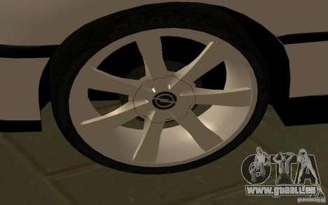 Opel Omega pour GTA San Andreas laissé vue