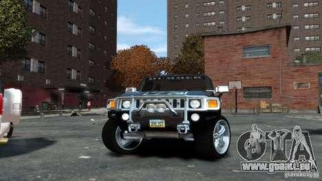 Hummer H3 2005 Chrome Final pour GTA 4 est un droit