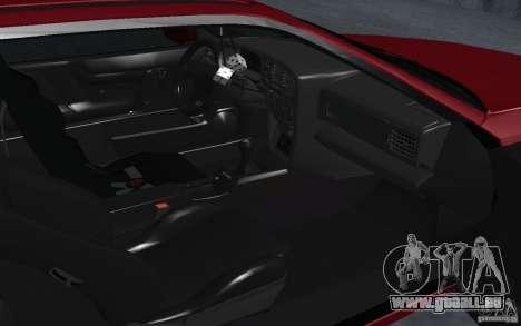 Volkswagen Corrado pour GTA San Andreas vue arrière
