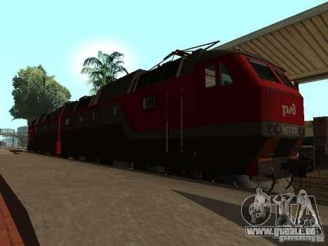 Cs7 CFR 233 pour GTA San Andreas laissé vue
