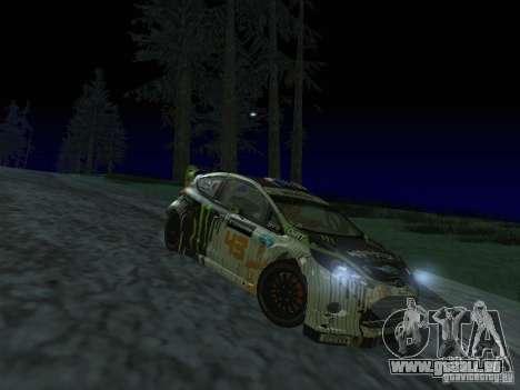 Ford Fiesta Ken Block WRC pour GTA San Andreas