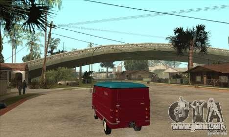 PLAYLIST 762 dans pour GTA San Andreas sur la vue arrière gauche