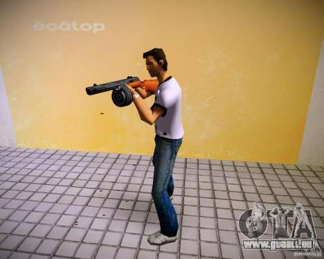 PPSH-41 für GTA Vice City fünften Screenshot