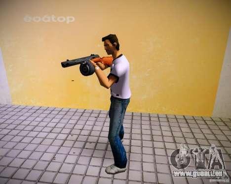 PPSH-41 für GTA Vice City fünften Screenshot