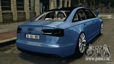 Audi A6 pour GTA 4 Vue arrière de la gauche