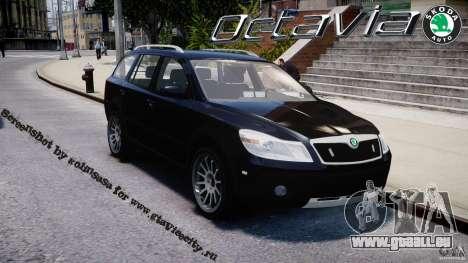 Skoda Octavia Scout Unmarked [ELS] für GTA 4