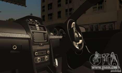 Holden HSV GTS pour GTA San Andreas vue intérieure