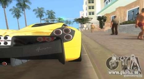Pagani Huayra für GTA Vice City linke Ansicht