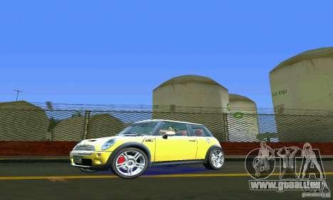 Mini Cooper S für GTA Vice City linke Ansicht