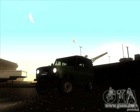 UAZ 31512 militärische für GTA San Andreas