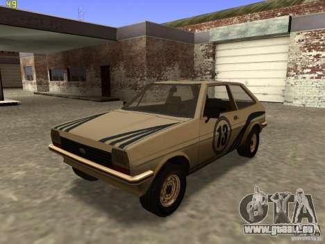 Ford Fiesta 1981 pour GTA San Andreas