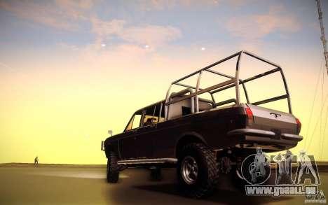 GAZ 2402 4 x 4 PickUp für GTA San Andreas Rückansicht