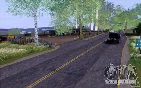 Campagne HQ pour GTA San Andreas quatrième écran