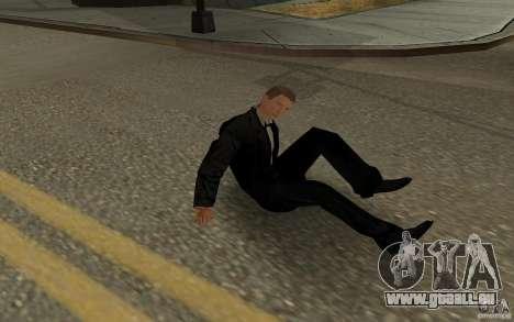 Agent 007 pour GTA San Andreas huitième écran