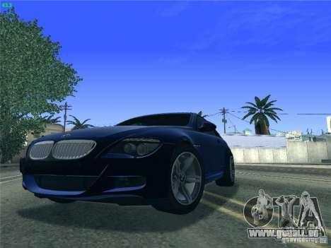 BMW M6 2010 Coupe für GTA San Andreas linke Ansicht