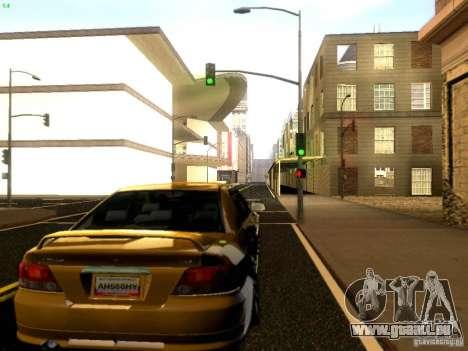 Mitsubishi Galant 2002 pour GTA San Andreas vue de droite