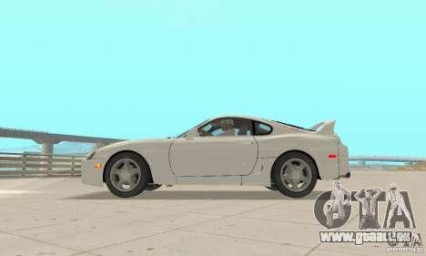 Toyota Supra 1998 stock für GTA San Andreas rechten Ansicht