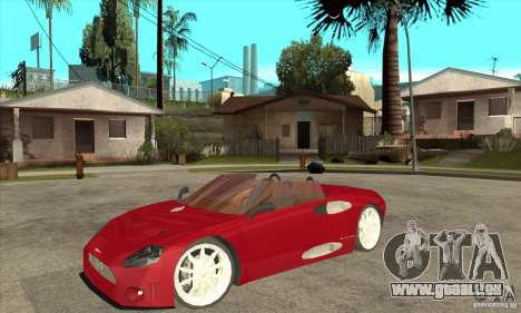 Spyker C8 Spyder für GTA San Andreas
