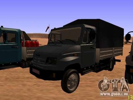 ZIL 5301 Goby für GTA San Andreas Innenansicht