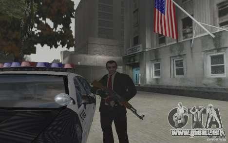 Animation de GTA IV v 2.0 pour GTA San Andreas cinquième écran