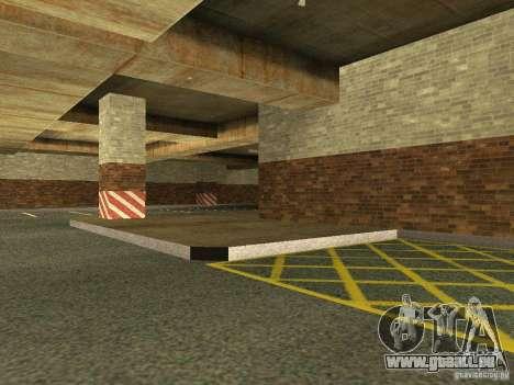 Le nouveau garage souterrain par la police à Los pour GTA San Andreas