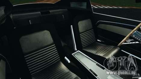 Shelby GT 500 Eleanor v2.0 für GTA 4 Innenansicht