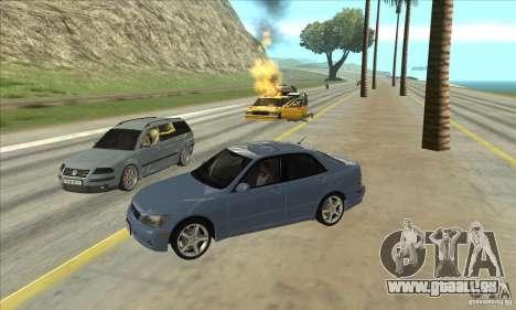 Real ENB Settings v3.0 The End version pour GTA San Andreas troisième écran