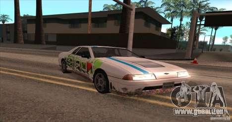Paintjob for Elegy pour GTA San Andreas laissé vue