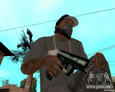 Walther cp99 pour GTA San Andreas deuxième écran