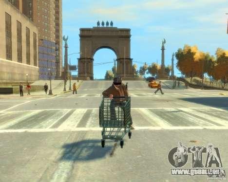 Chariot pour GTA 4