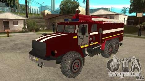 Ural 43206 Feuerwehrmann für GTA San Andreas