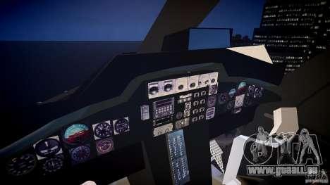 Airwolf v1.0 pour GTA 4 Vue arrière
