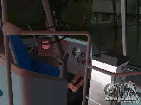 GMC RTS für GTA Vice City Innenansicht