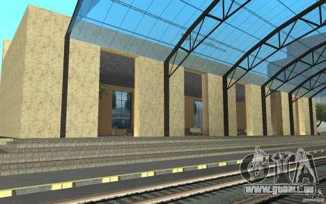 Die neue Station in San Fierro für GTA San Andreas