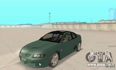 Vauxhall Monaro VXR Open SKY 2004 für GTA San Andreas