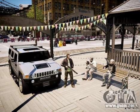 CoD Black Ops Hudson pour GTA 4 troisième écran