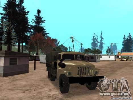 Ural-4320 für GTA San Andreas
