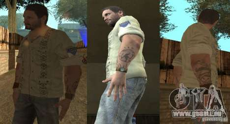 Skin Pack für SAMP-RP 1 k 2v für GTA San Andreas dritten Screenshot
