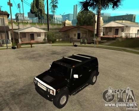 AMG H2 HUMMER SUV FBI pour GTA San Andreas
