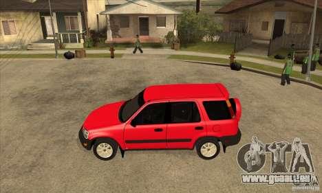Honda CRV 1997 für GTA San Andreas linke Ansicht
