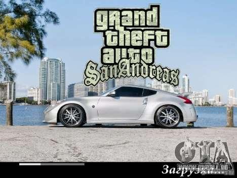 Nouveaux écrans de chargement 2011 pour GTA San Andreas sixième écran