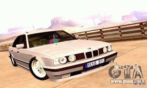 BMW E34 525i für GTA San Andreas zurück linke Ansicht