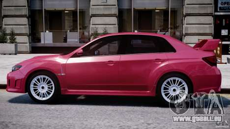 Subaru Impreza WRX STi 2011 für GTA 4