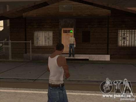 Nouveau Pack d'armes domestiques pour GTA San Andreas cinquième écran