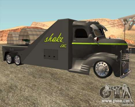 1946 COE Chevy SHAKE Inc pour GTA San Andreas laissé vue