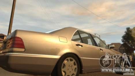 Mersedes-Benz 500SE Wheels 2 pour GTA 4 Vue arrière de la gauche