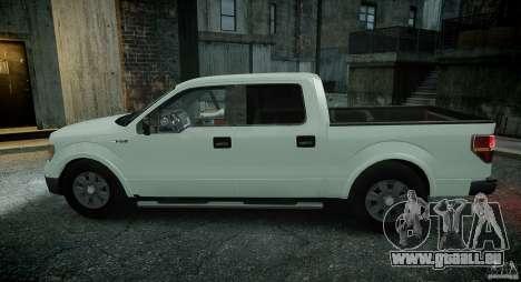 Ford F150 XLT v1.3 für GTA 4 Rückansicht
