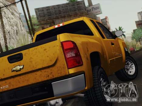Chevrolet Silverado 2500HD 2013 für GTA San Andreas rechten Ansicht
