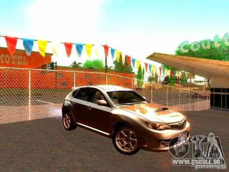 Subaru Impreza WRX STI 2008 für GTA San Andreas